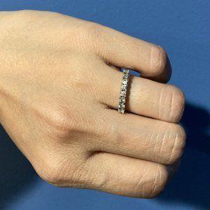 NEW GORGEOUS White Gold 0.32CTTW Diamond Ring